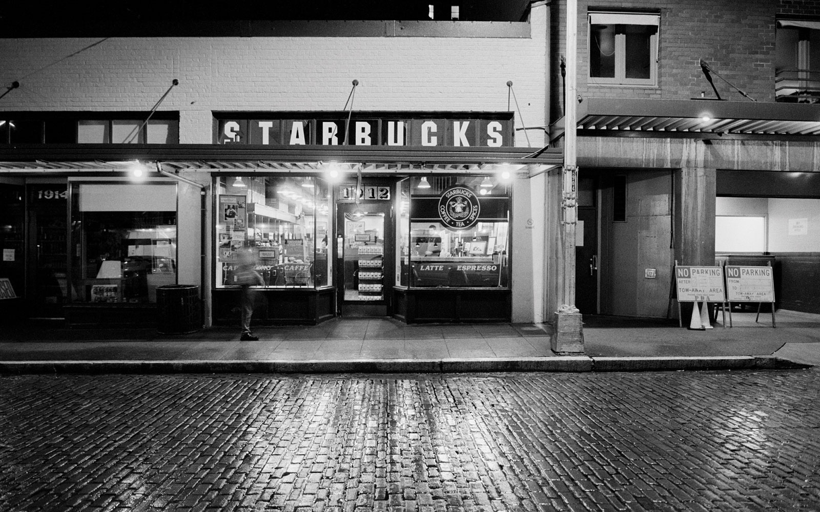 Best for a Flat White: Original Starbucks Coffee Café
