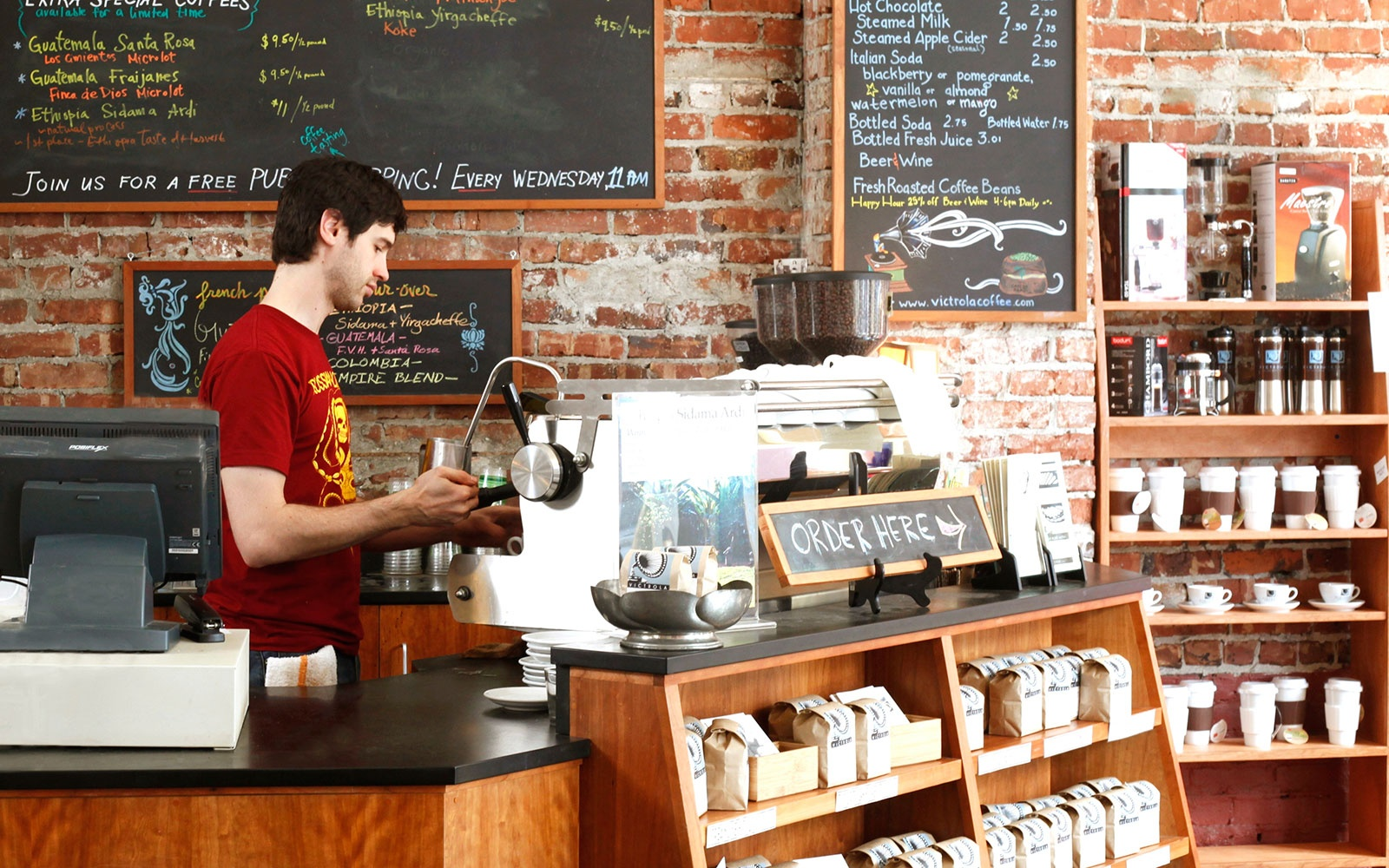Best for Coffee Education: Victrola Coffee Roasters' Pike Place Location