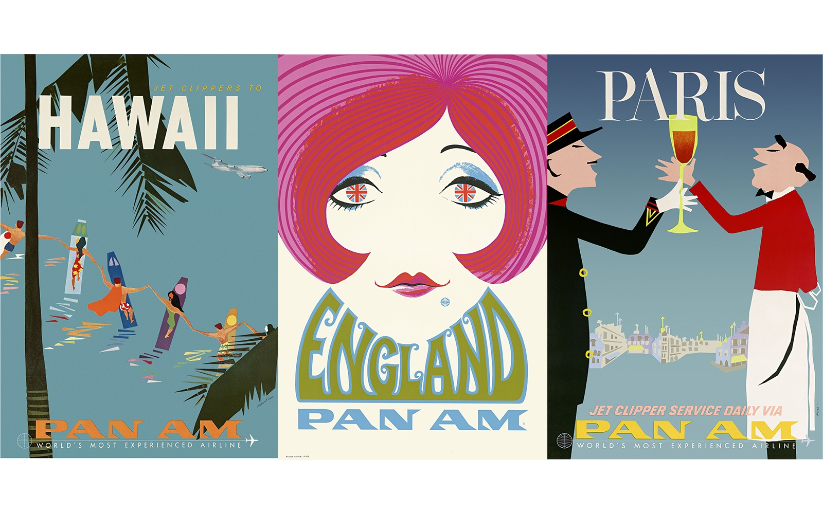 30 Vintage Travel Ads from the Mad Men Era