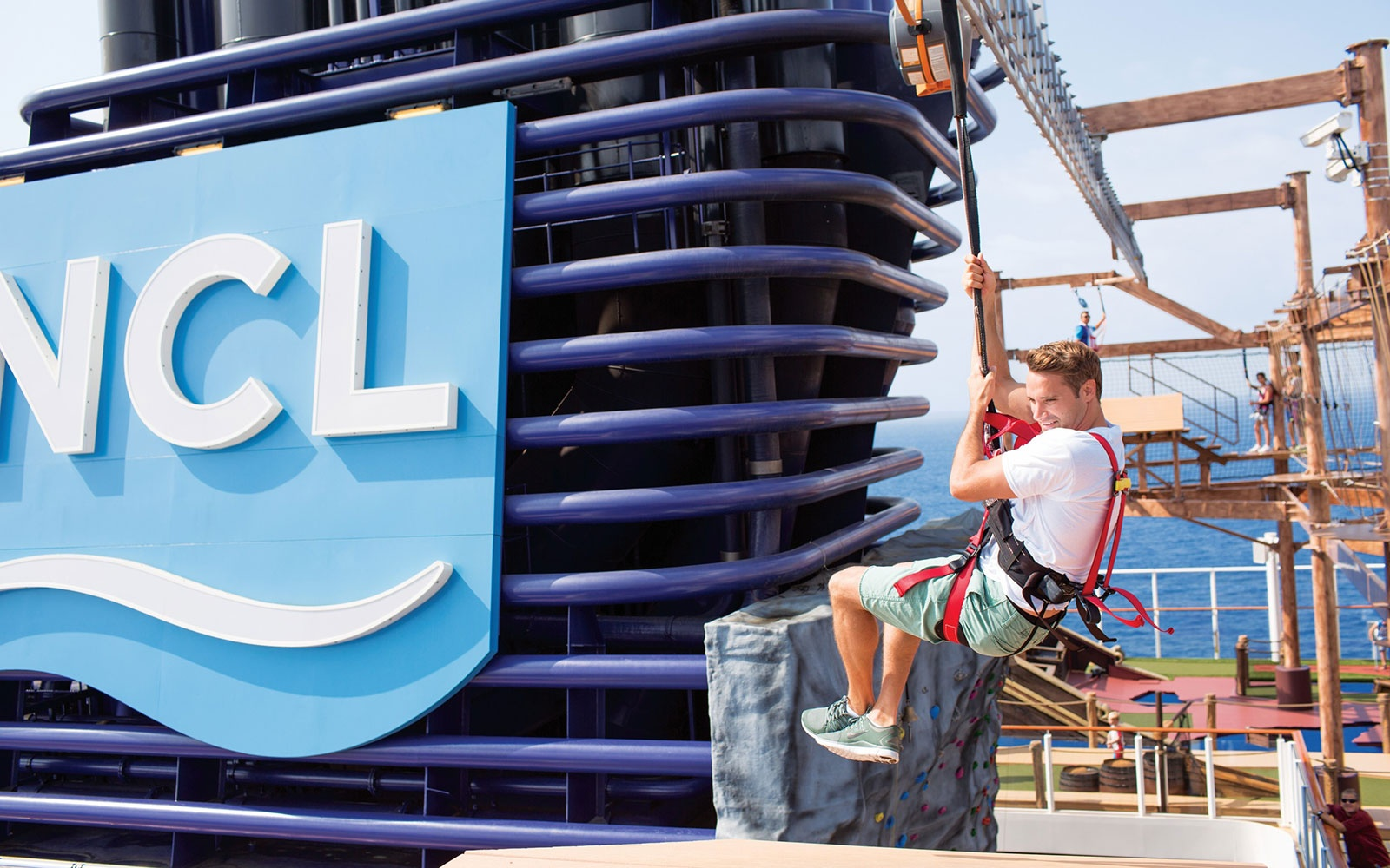 No. 9 Large-Ship Ocean Cruise Line: Norwegian Cruise Line