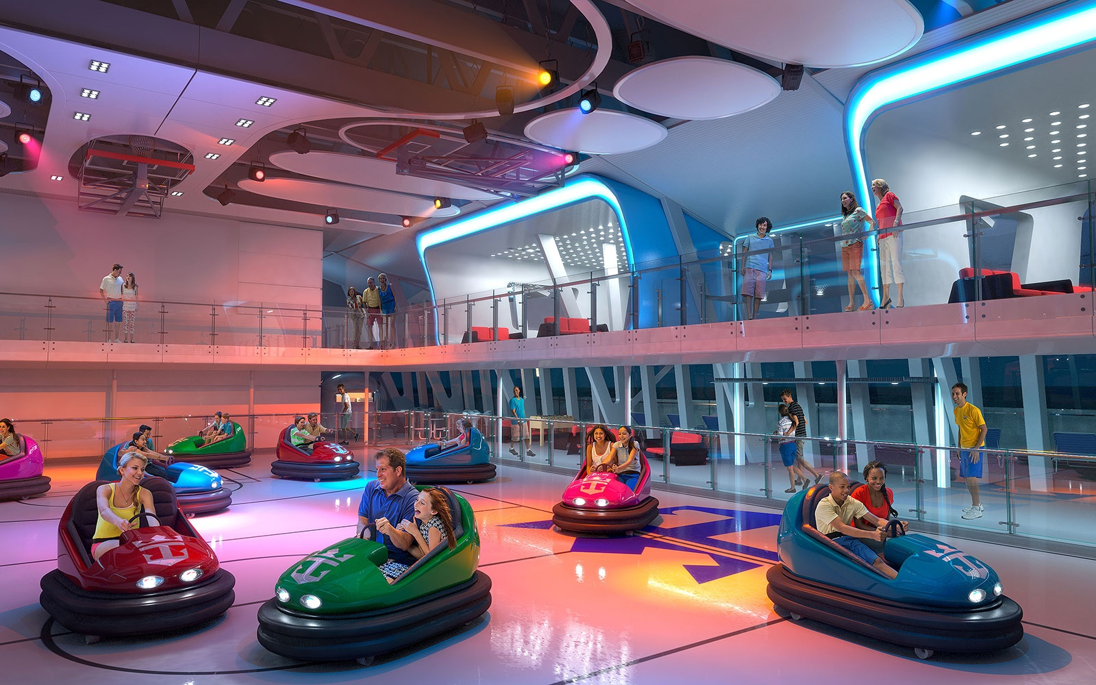Bumper Cars on Royal Caribbean's Quantum of the Seas and Anthem of the Seas