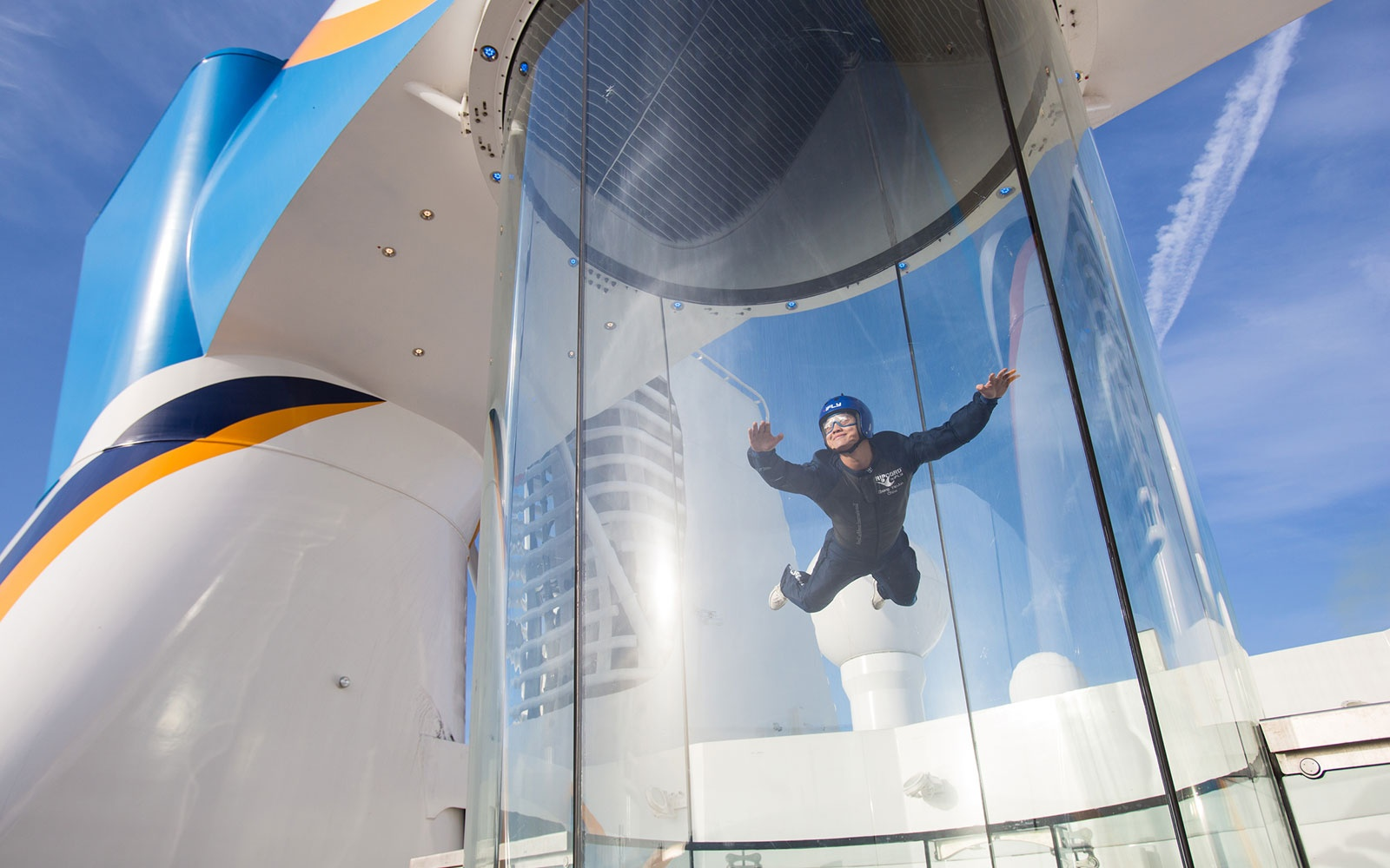 Skydiving Simulator on Royal Caribbean's Quantum of the Seas and Anthem of the Seas