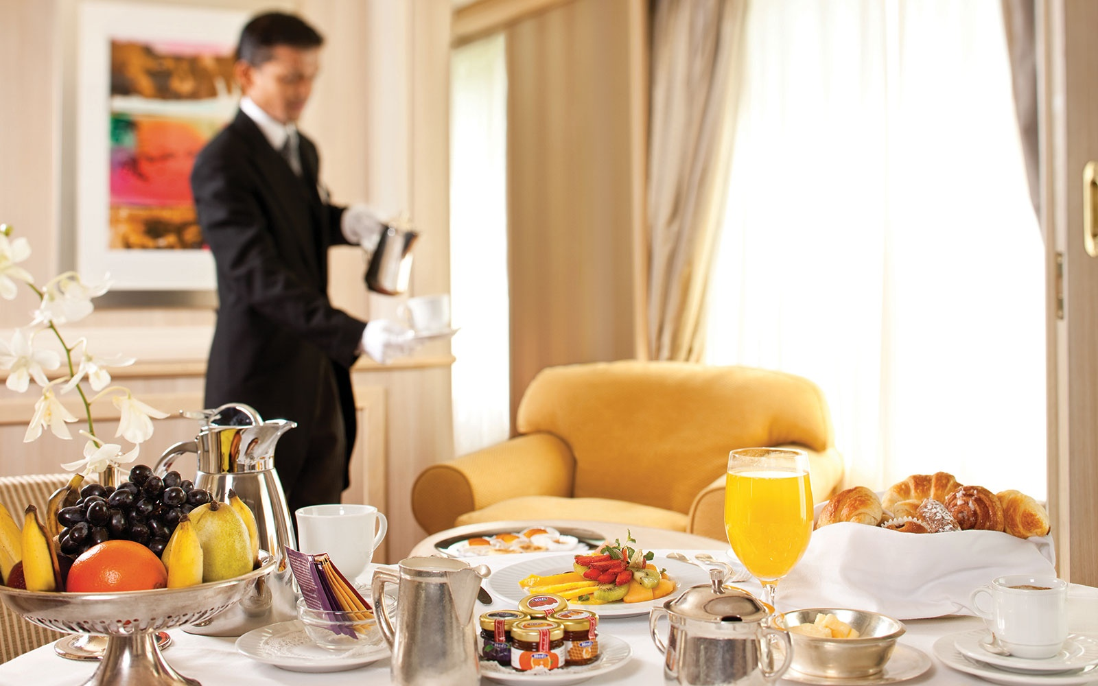 Butler Service on Silversea Cruises