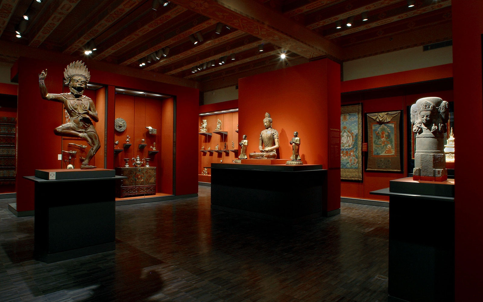 AAM Himalayan Gallery                 Asian Art Museum Himalayan Gallery                 Photograph by Kaz Tsuruta