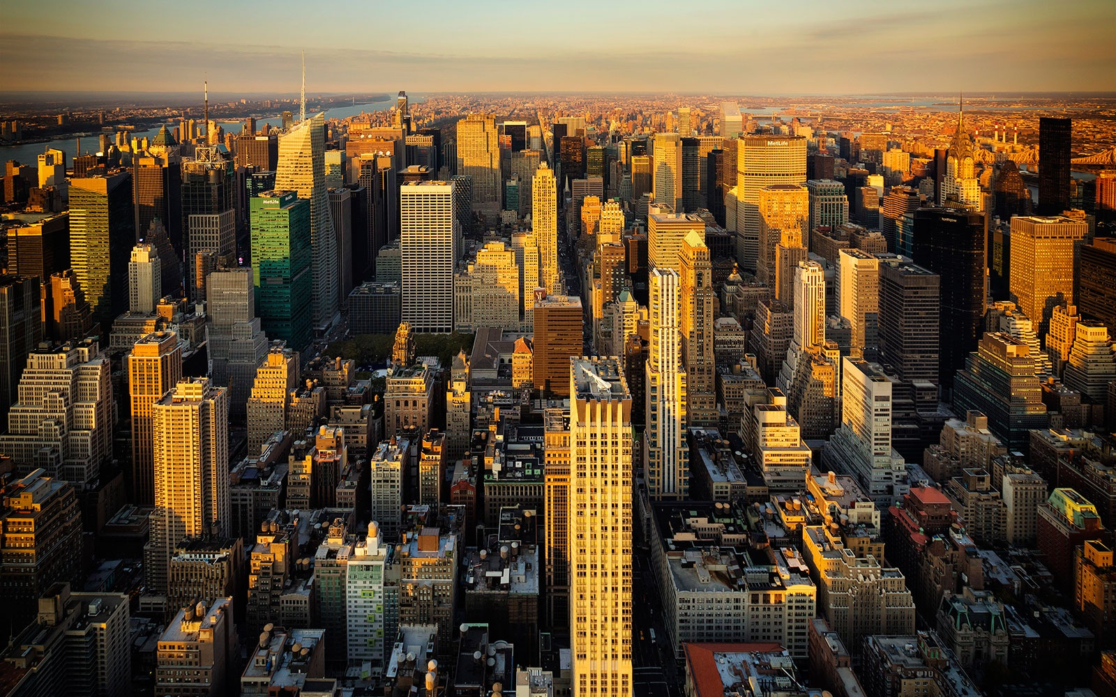 Urban Layers NYC Building Map Travel Leisure - Nyc map empire state building