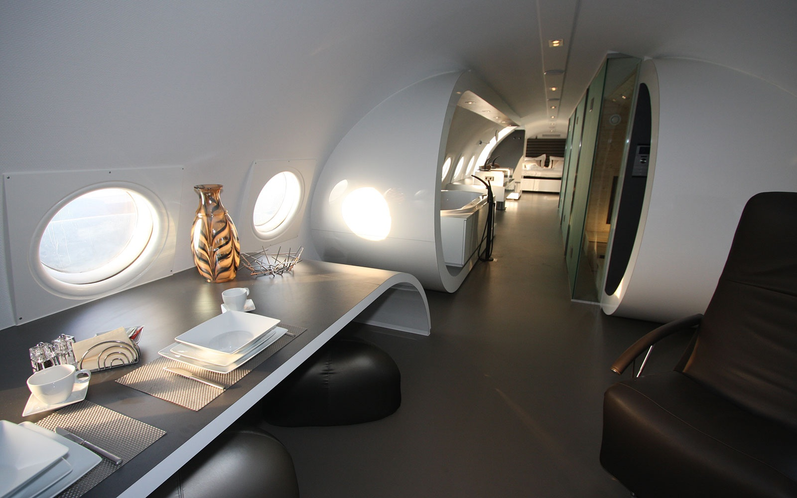 Airplane Suite in Teuge, Holland