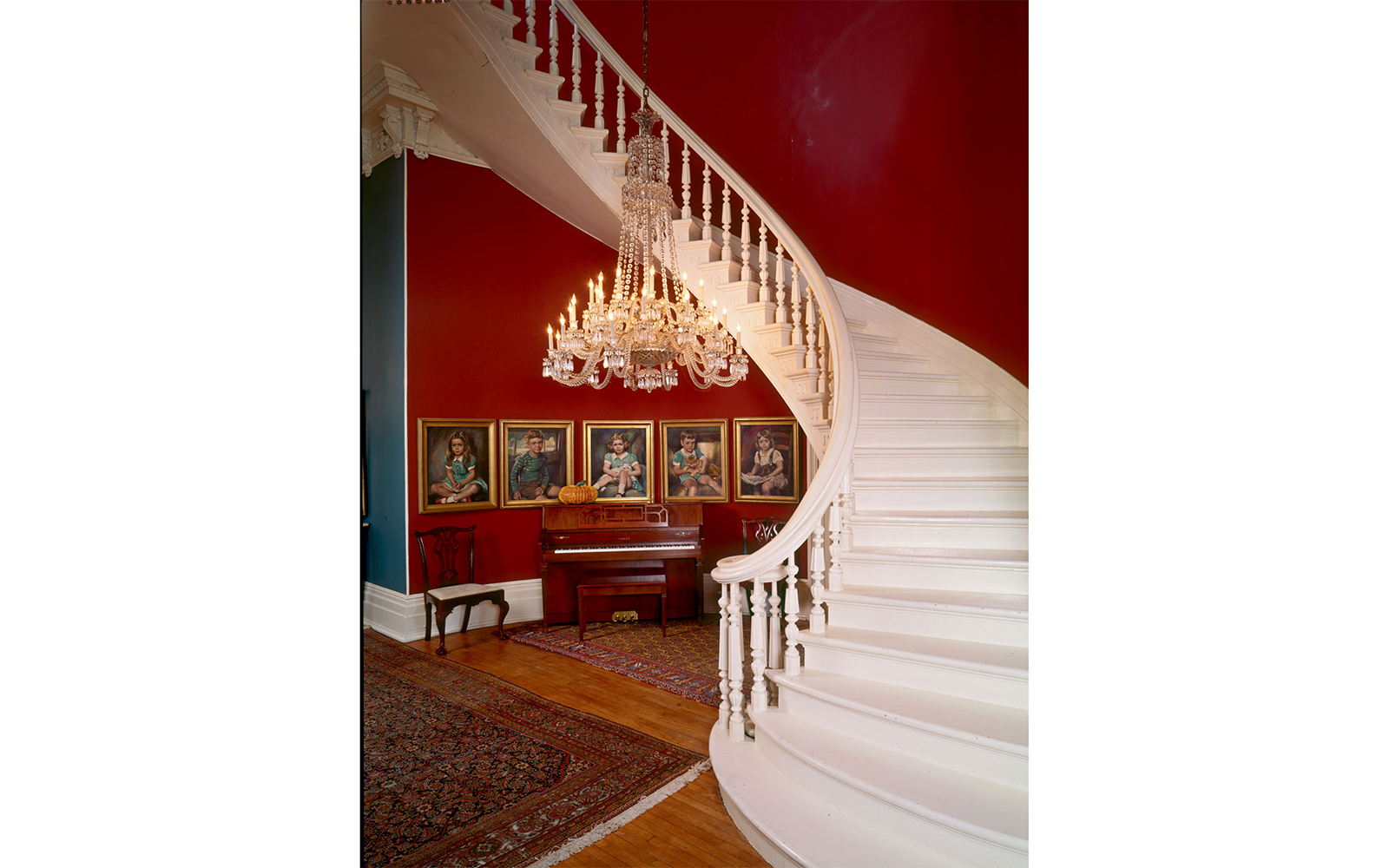 Stair in the Walter Grinnan Robinson House