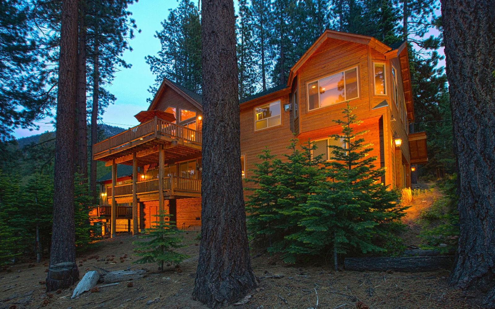 Indoor Spa in South Lake Tahoe, CA, Sleeps 16