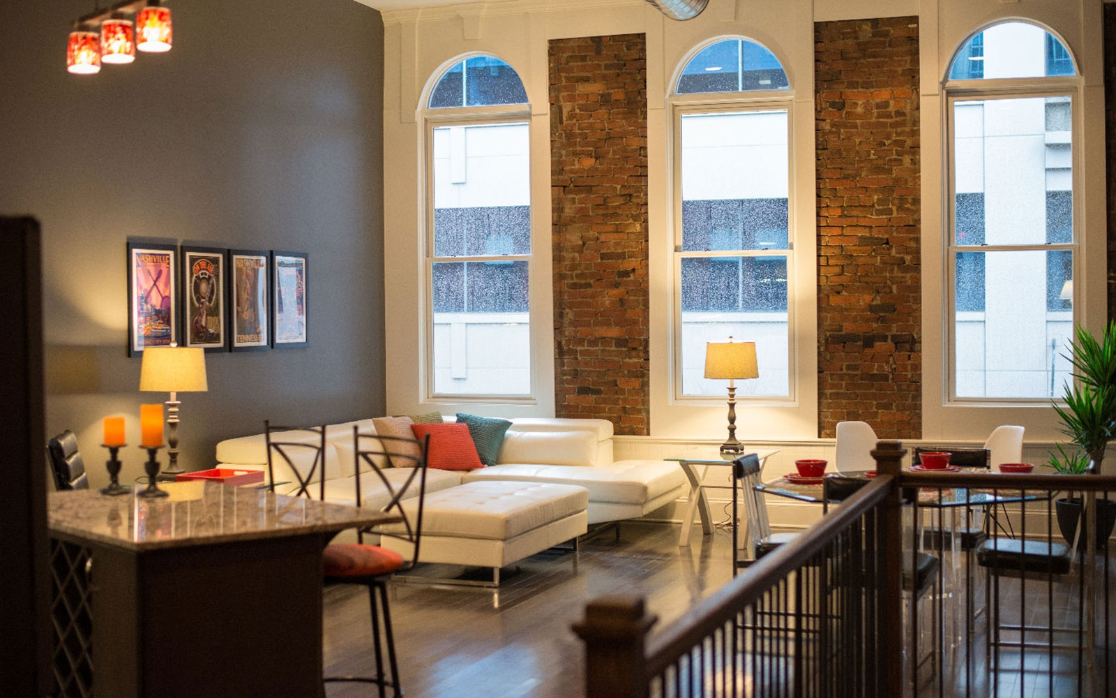 Massive Modern Loft in Nashville  Sleeps 12. 20 Unique Group Rental Homes   Travel   Leisure