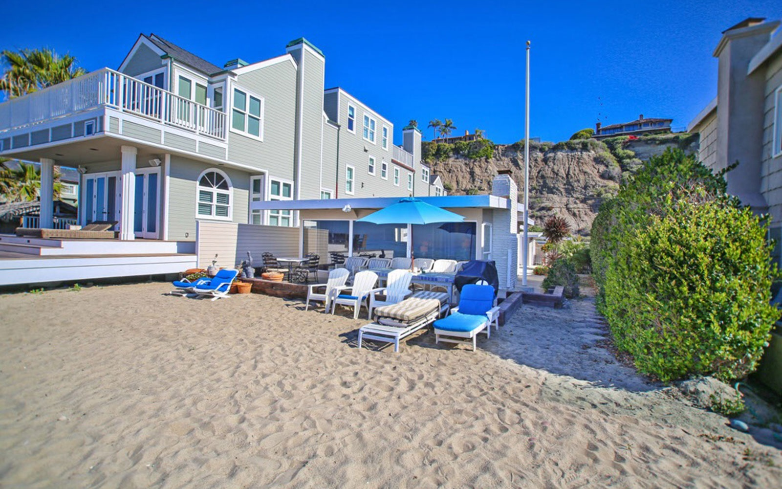 Private Beach Access in Dana Point, CA, Sleeps 12