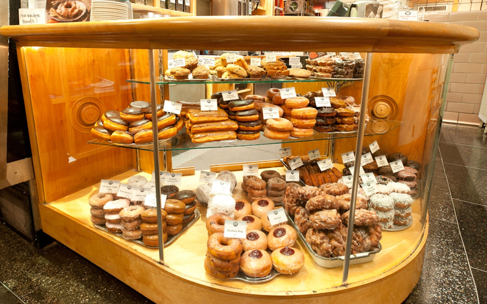 Top Pots Doughnuts in Seattle, Washington