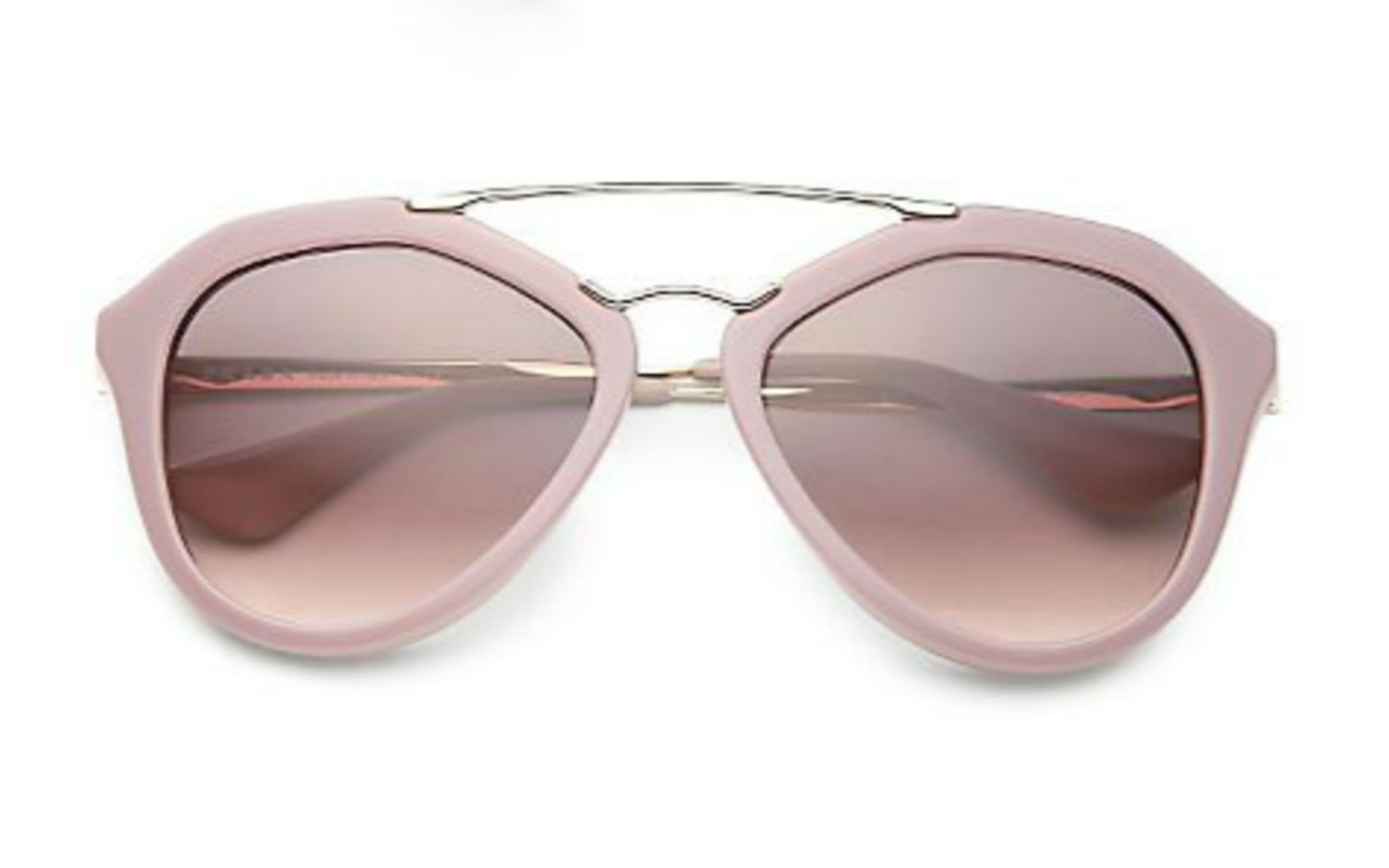 Prada Pilot aviator sunglasses, $325