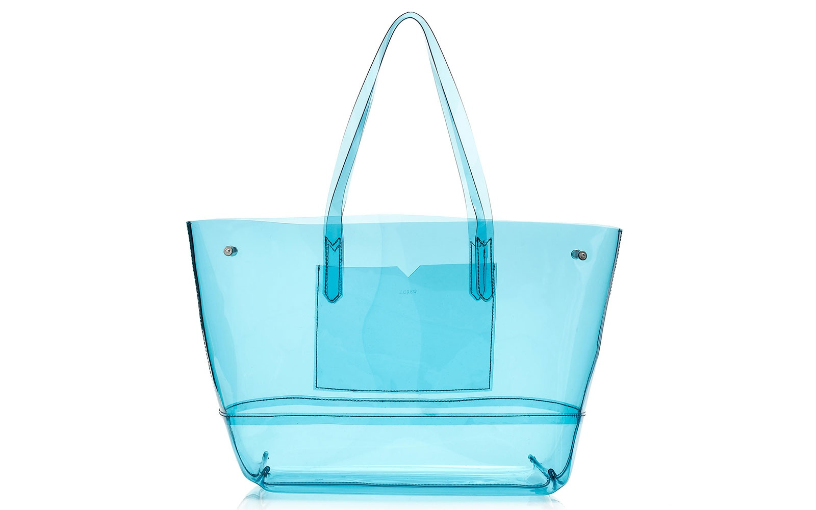 J Crew clear beach tote, $78