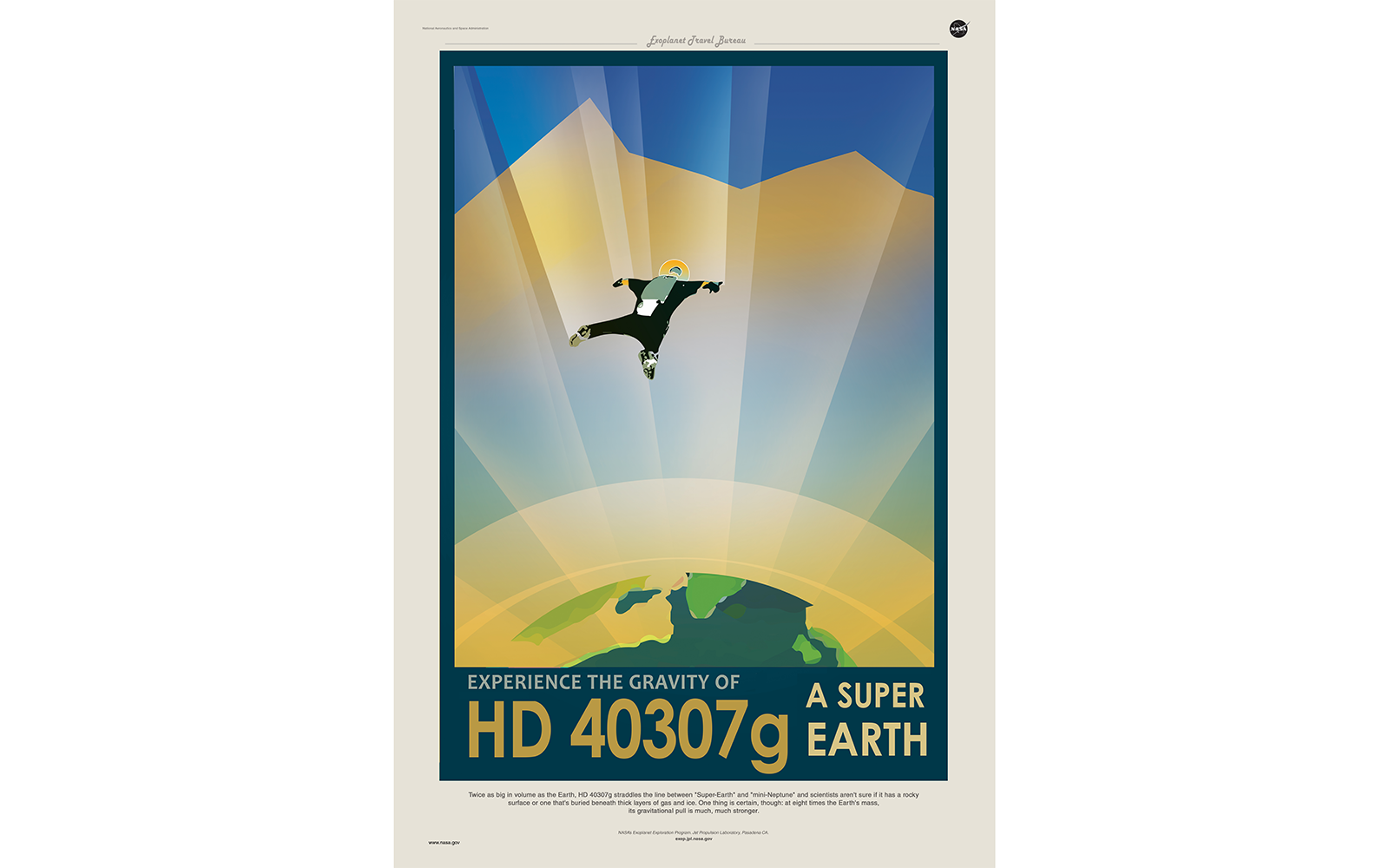 14 Intergalactic Travel Posters That Make us Wish Space Tourism Was a Real Thing