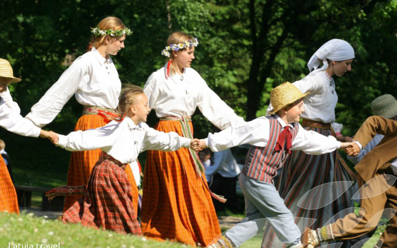 Jāņi Day in Riga, Latvia