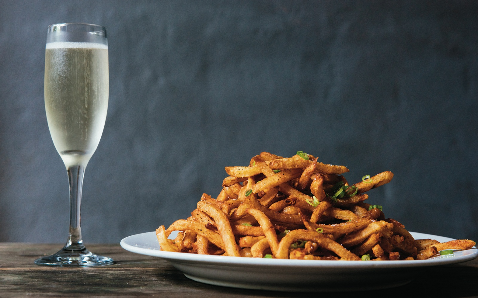 French Fries & French Bubbly at Sylvain in New Orleans