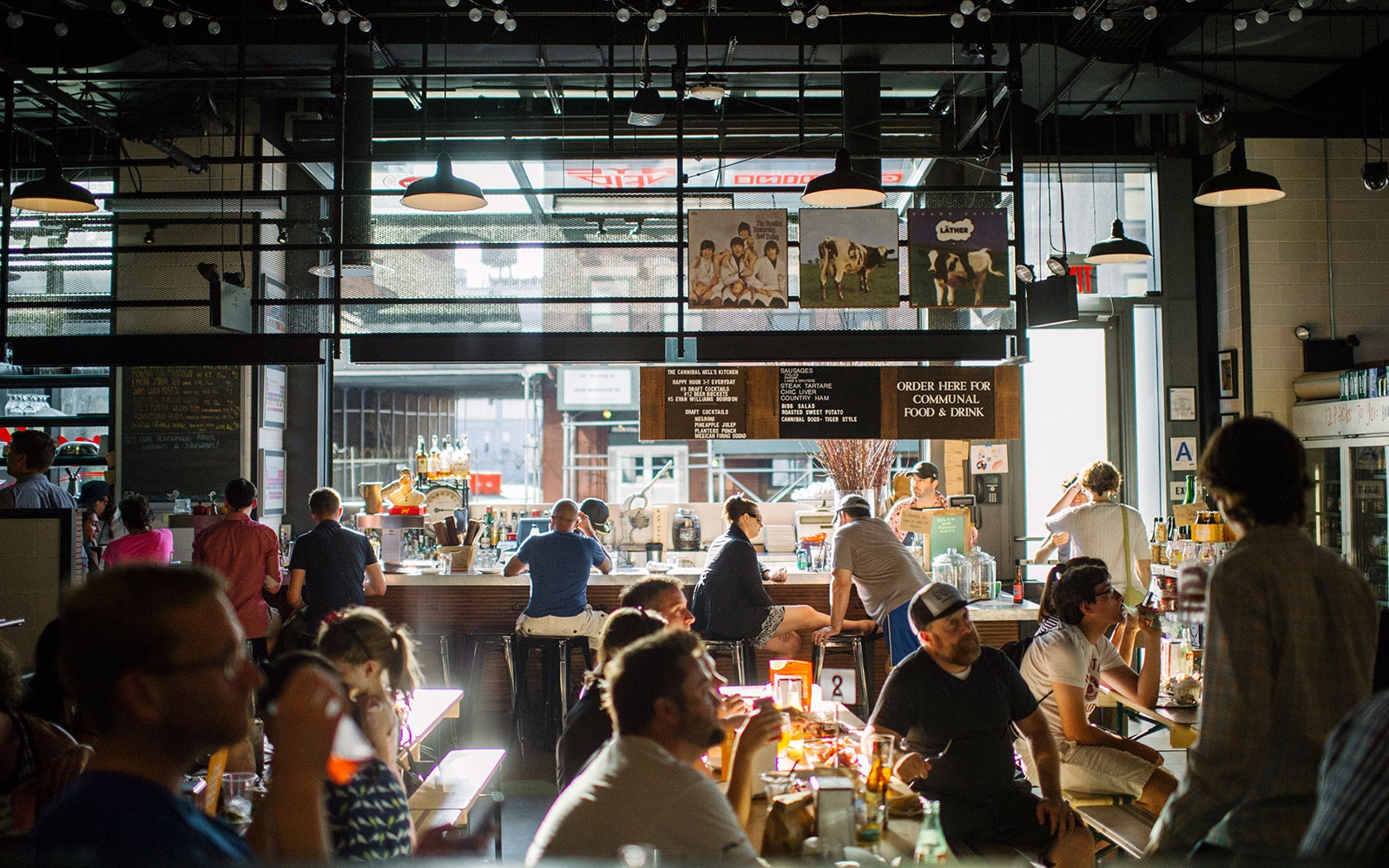Best New Food Halls: Gotham West Market, New York City