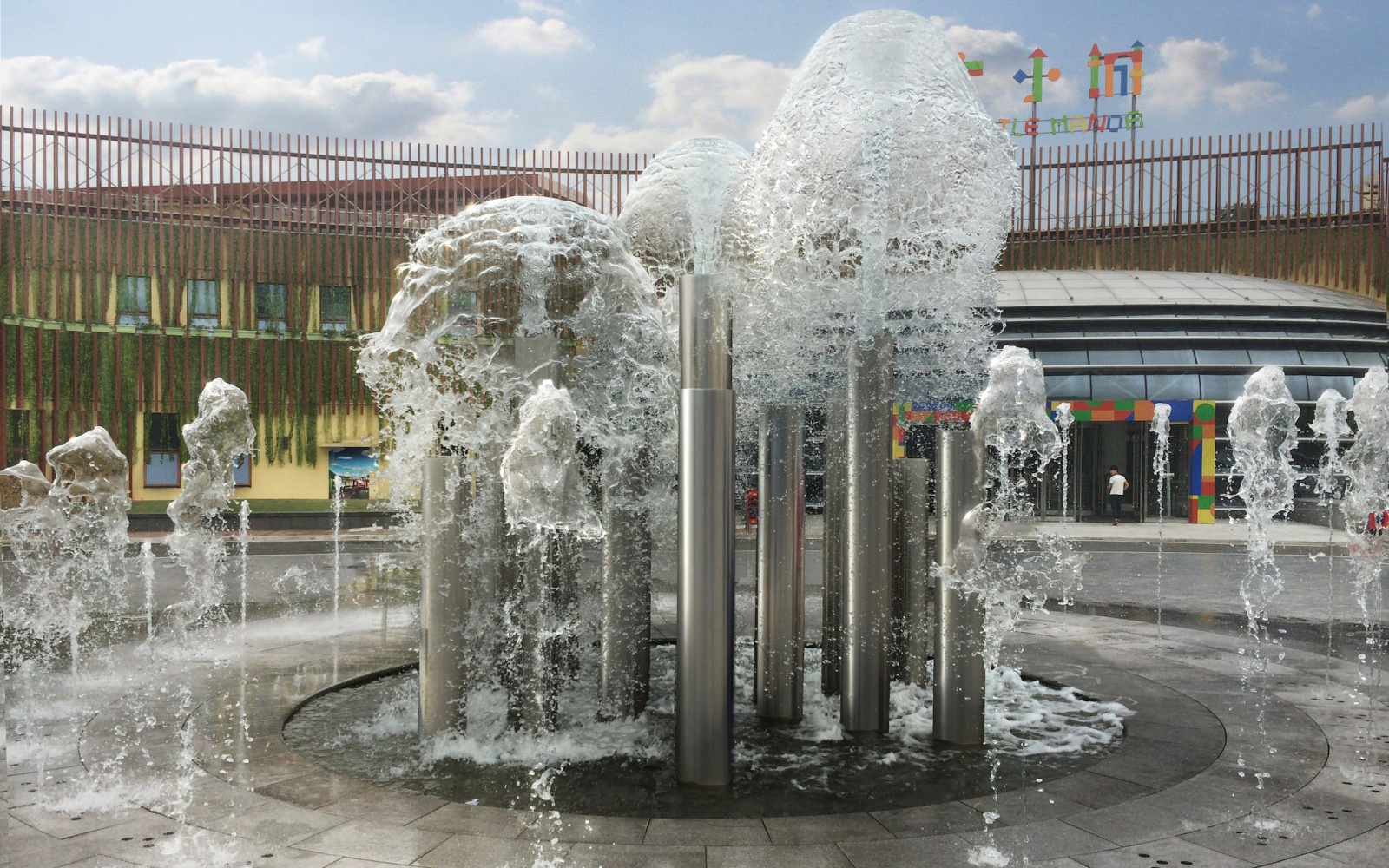 Fountains Of Shanghai Daning Project Has Started Travel