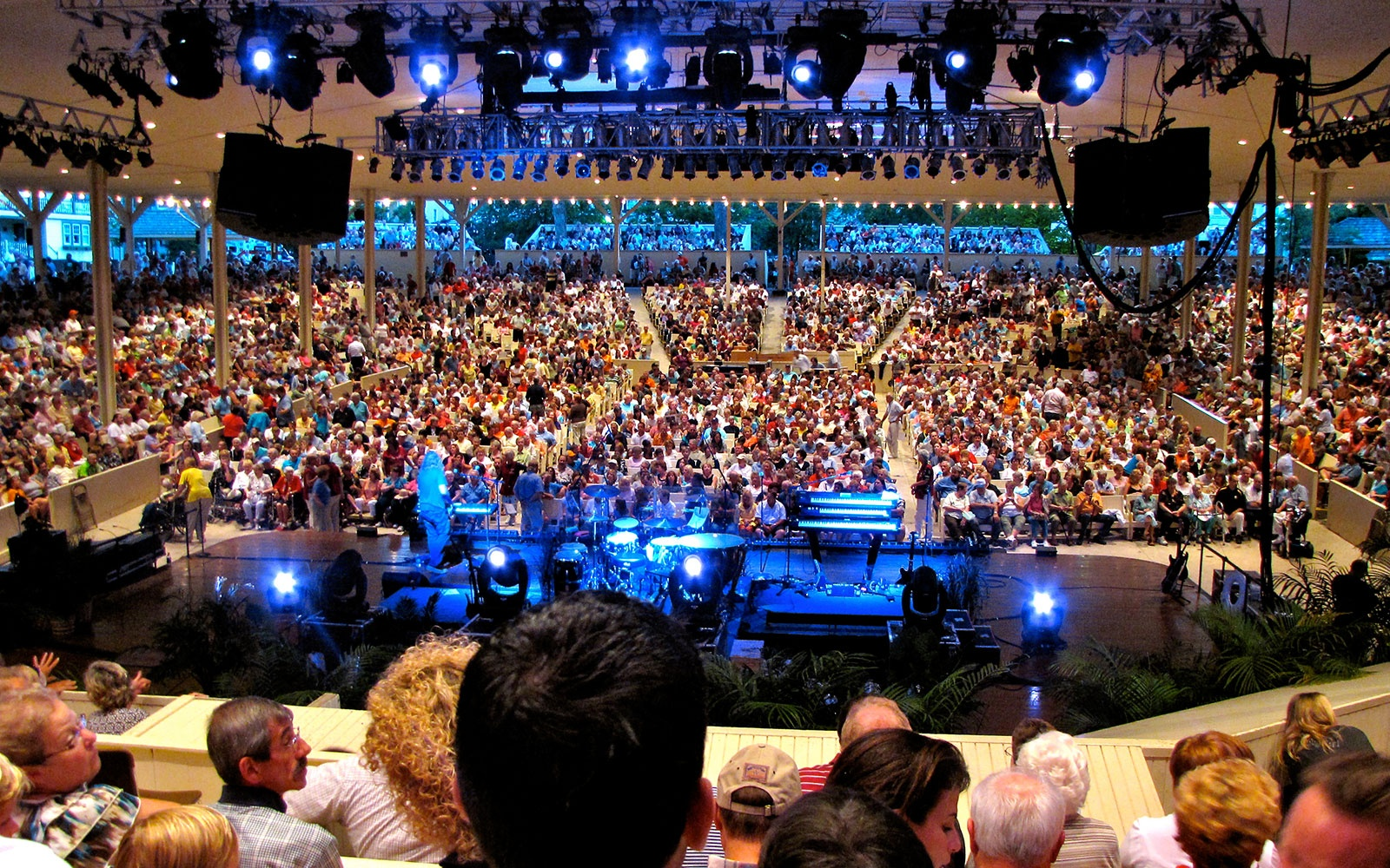 Chautauqua Amphitheater in Chautauqua, New York