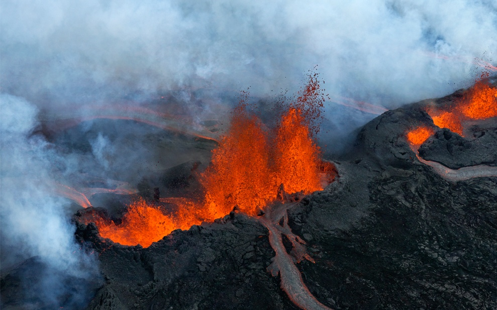 The Bárðarbunga volcanic system eruption