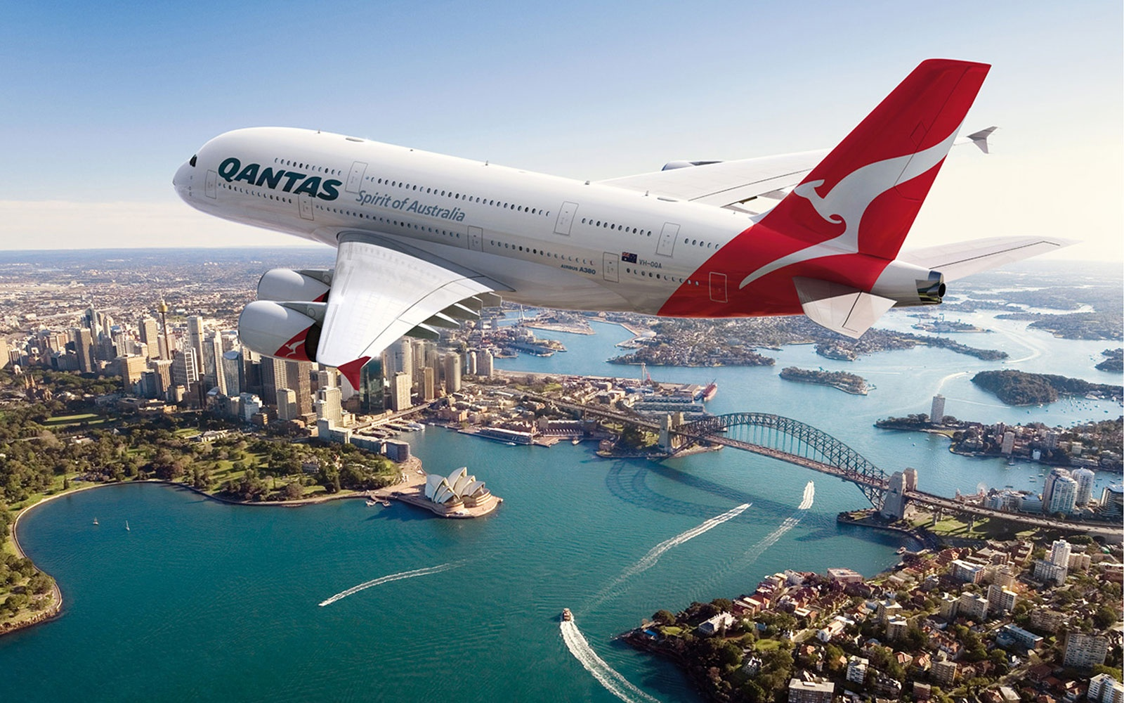 No. 10 International: Qantas Airways