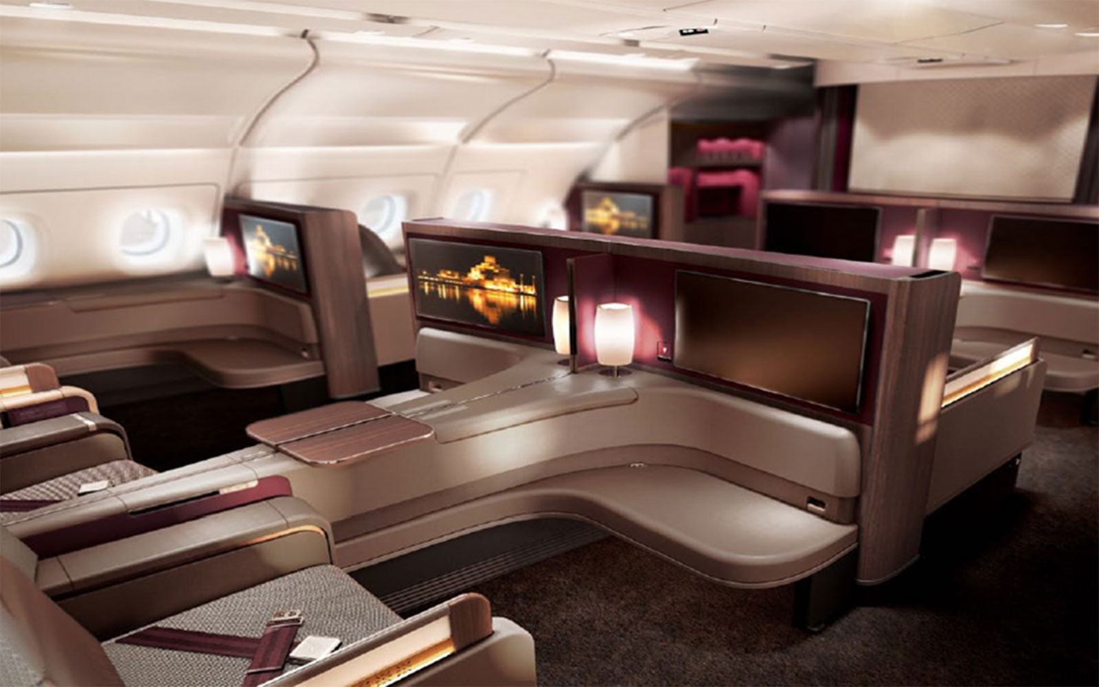 No. 3 International: Qatar Airways