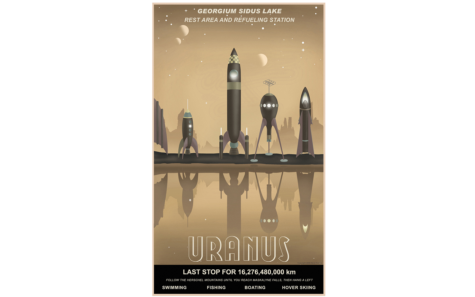 Vintage Space Travel Posters Travel Leisure - Retro style posters from nasa imagine how the future of space travel will look