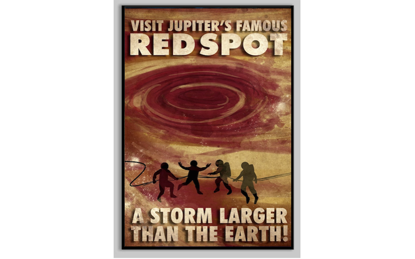 Extreme Storm Chasing: Jupiter's Red Spot