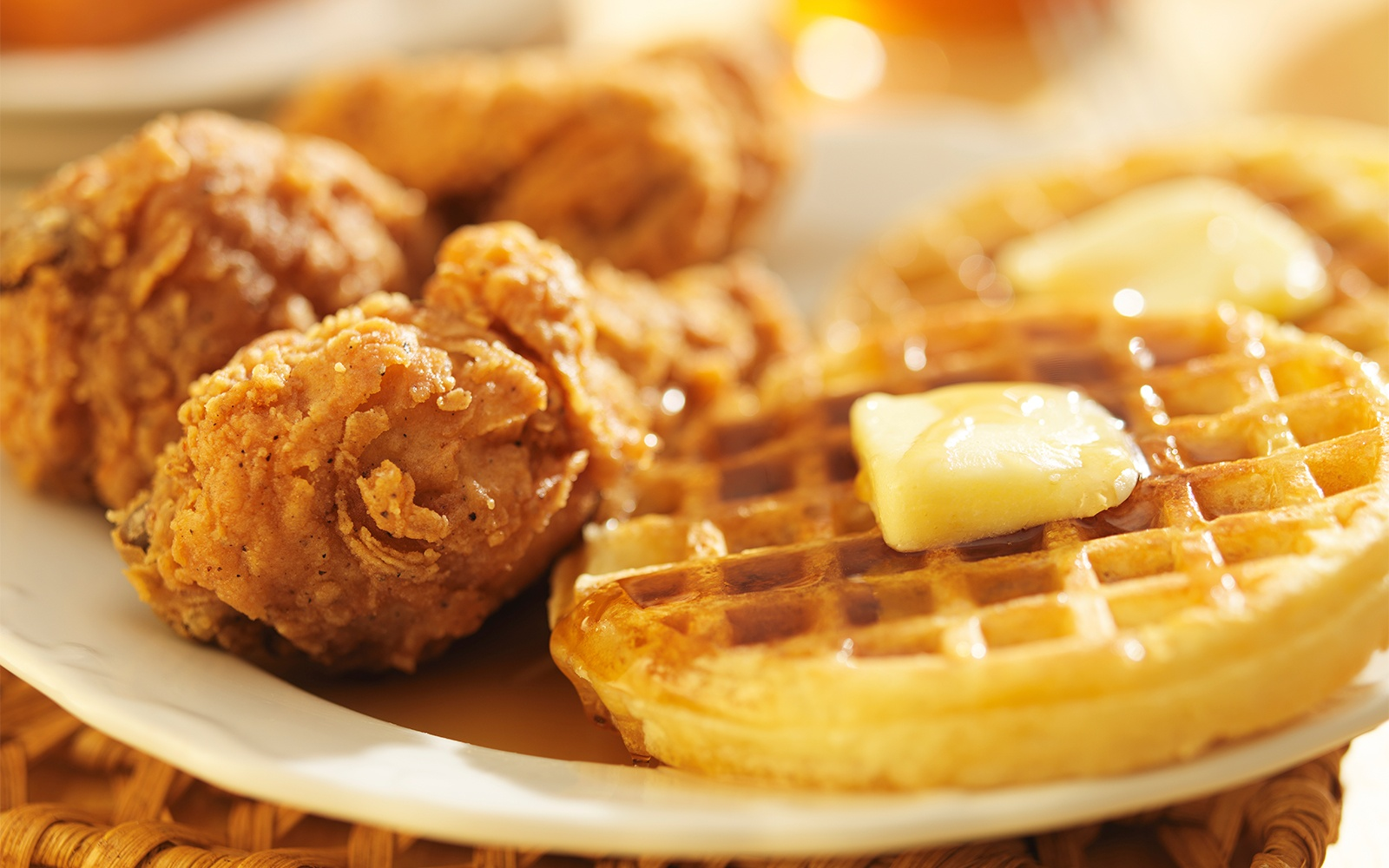 Chicken and Waffles in the American South