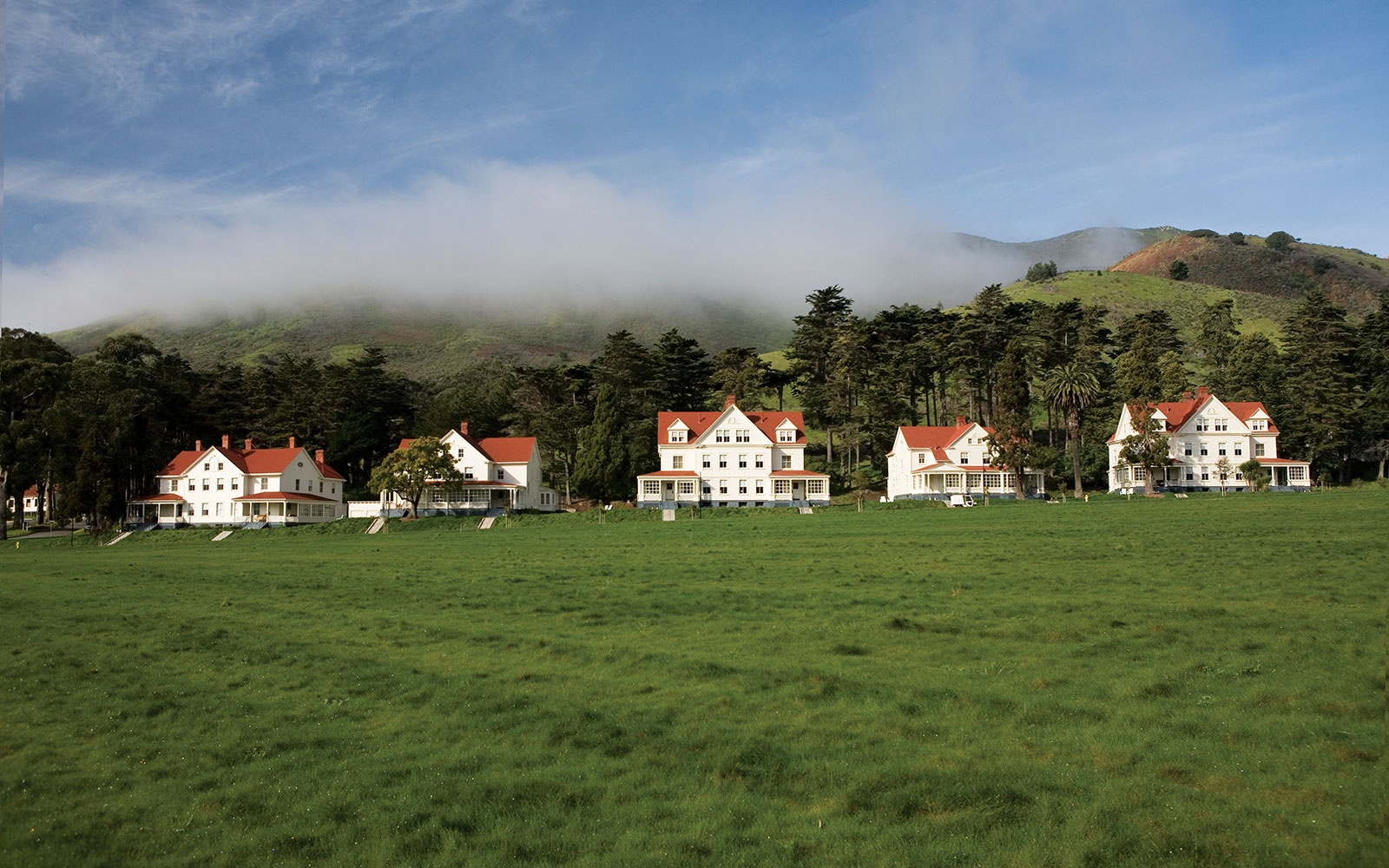 guest homes at Cavallo Point Lodge, Sausalito, California