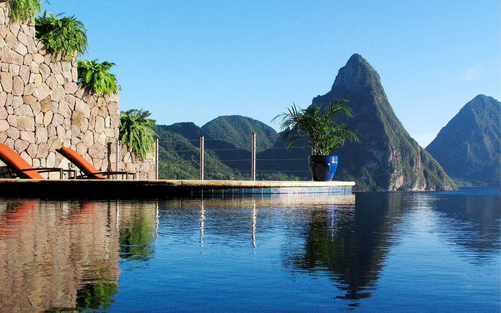 Jade Mountain Hotels Travel Leisure