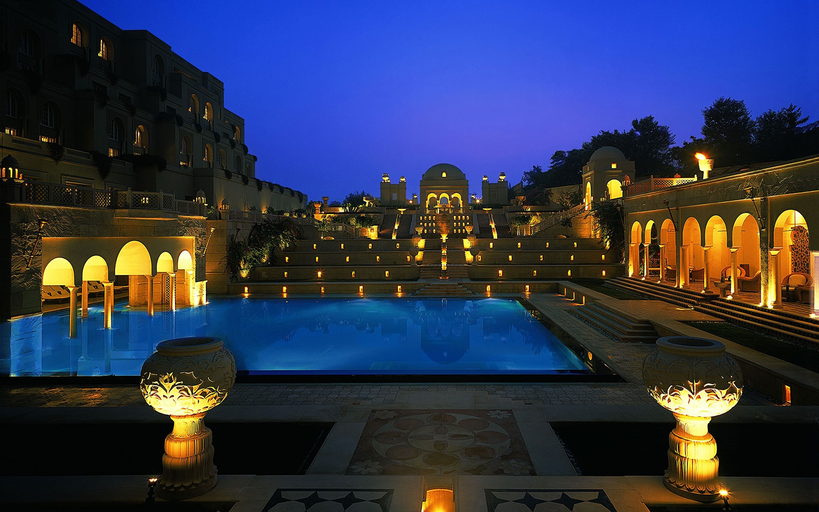 The Oberoi Amarvilas one of words best hotels, Agra, India