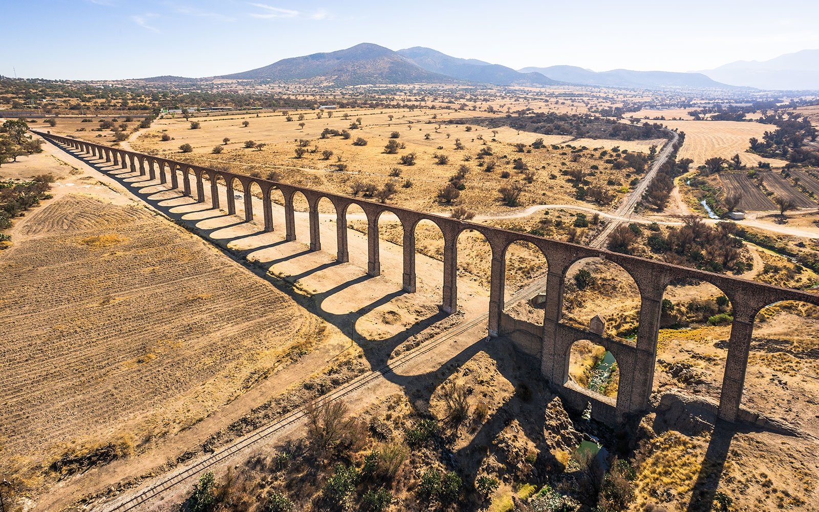 Aqueduct of Padre Tembleque Hydraulic System, Mexico