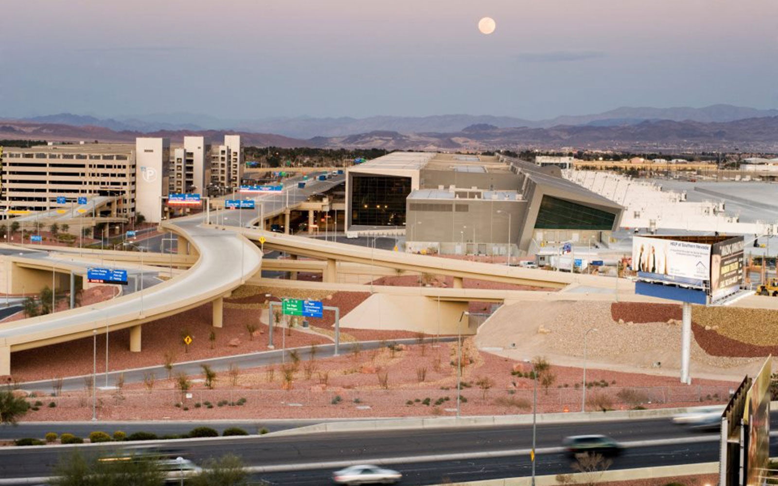 2. McCarran International Airport in Las Vegas