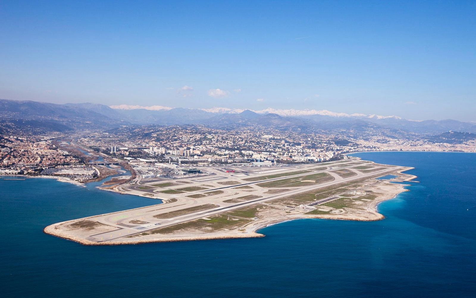 3. Nice Côte d'Azur International Airport in France