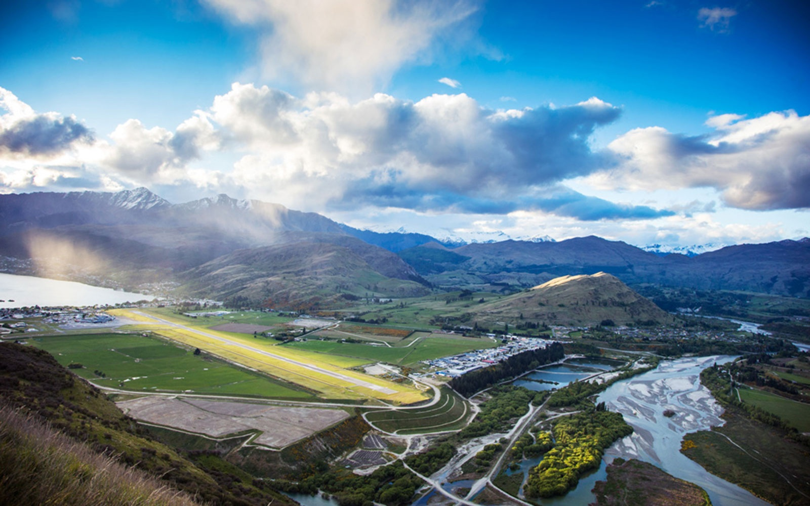 1. Queenstown Airport in New Zealand