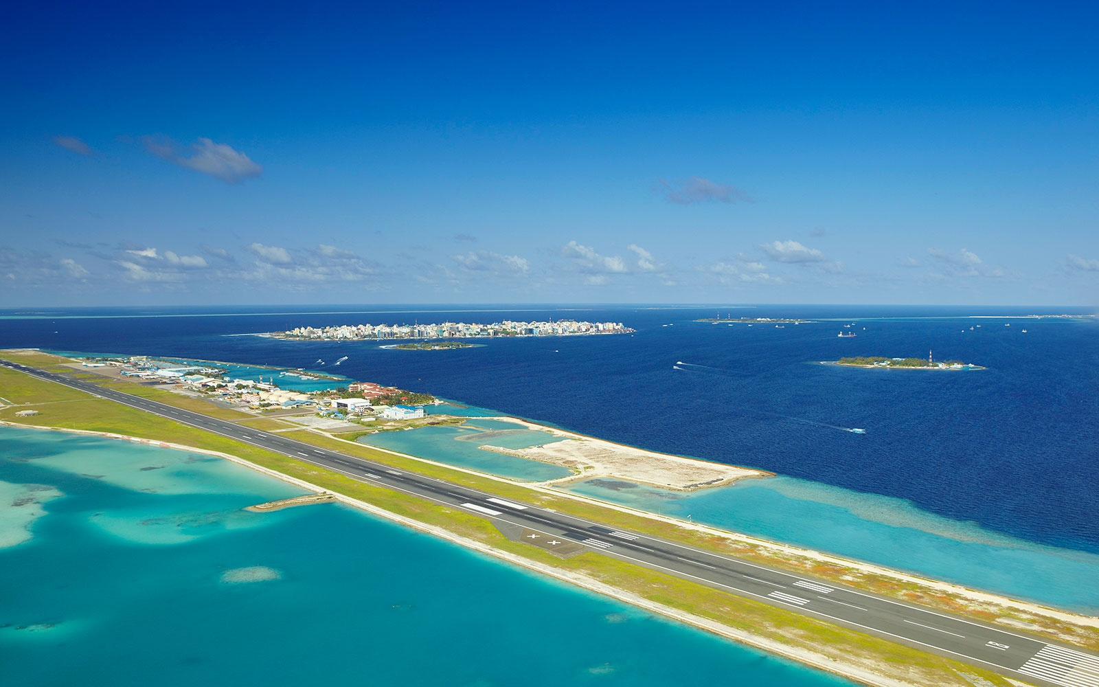 13. Malé International Airport in the Maldives
