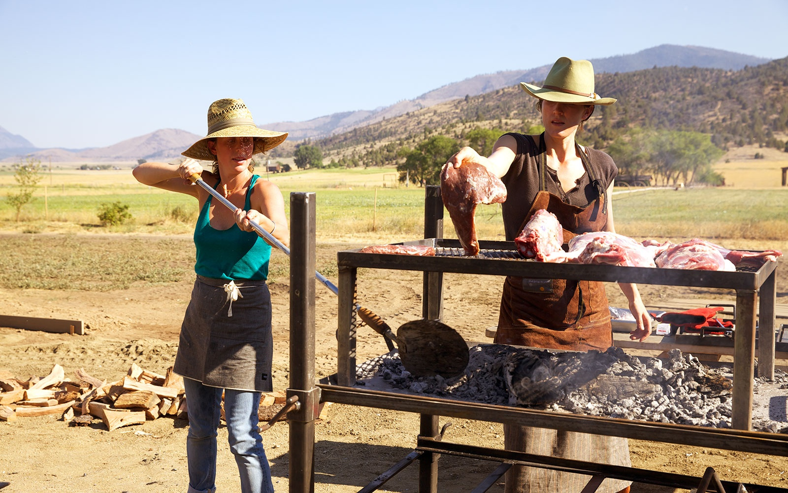 Inside California's Rugged, Rebellious 'Meat Camp' For Women