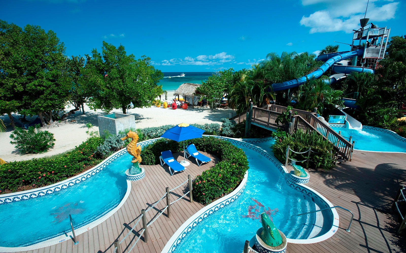 Beaches negril resort spa travel leisure for Spa getaways near chicago