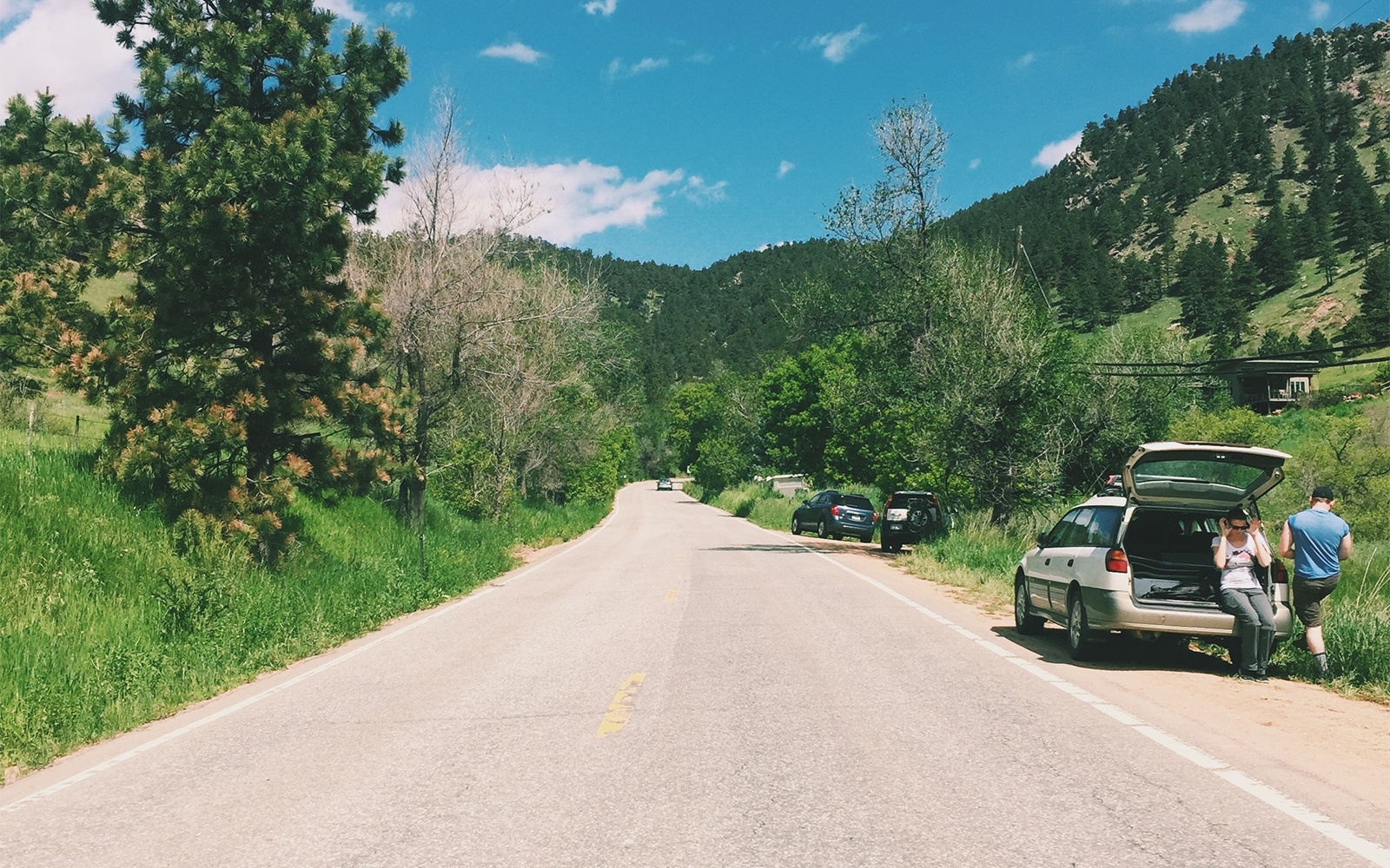 Quick Drive to the Mountains