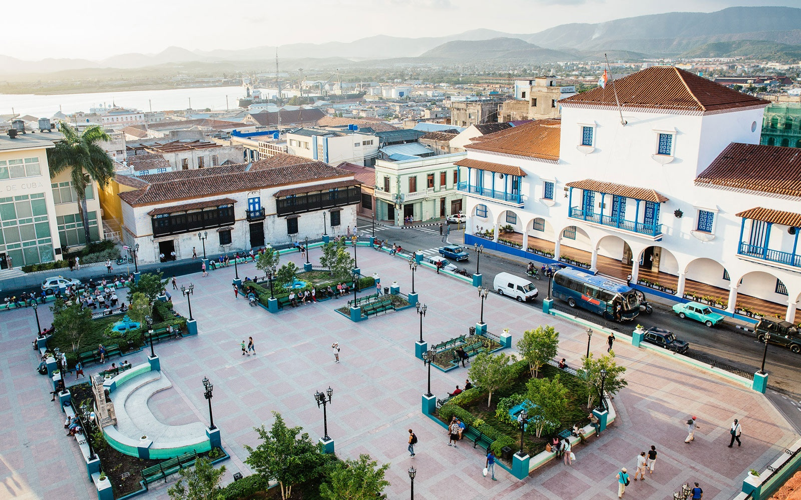 In Santiago de Cuba: Park Yourself in Lively Cespedes