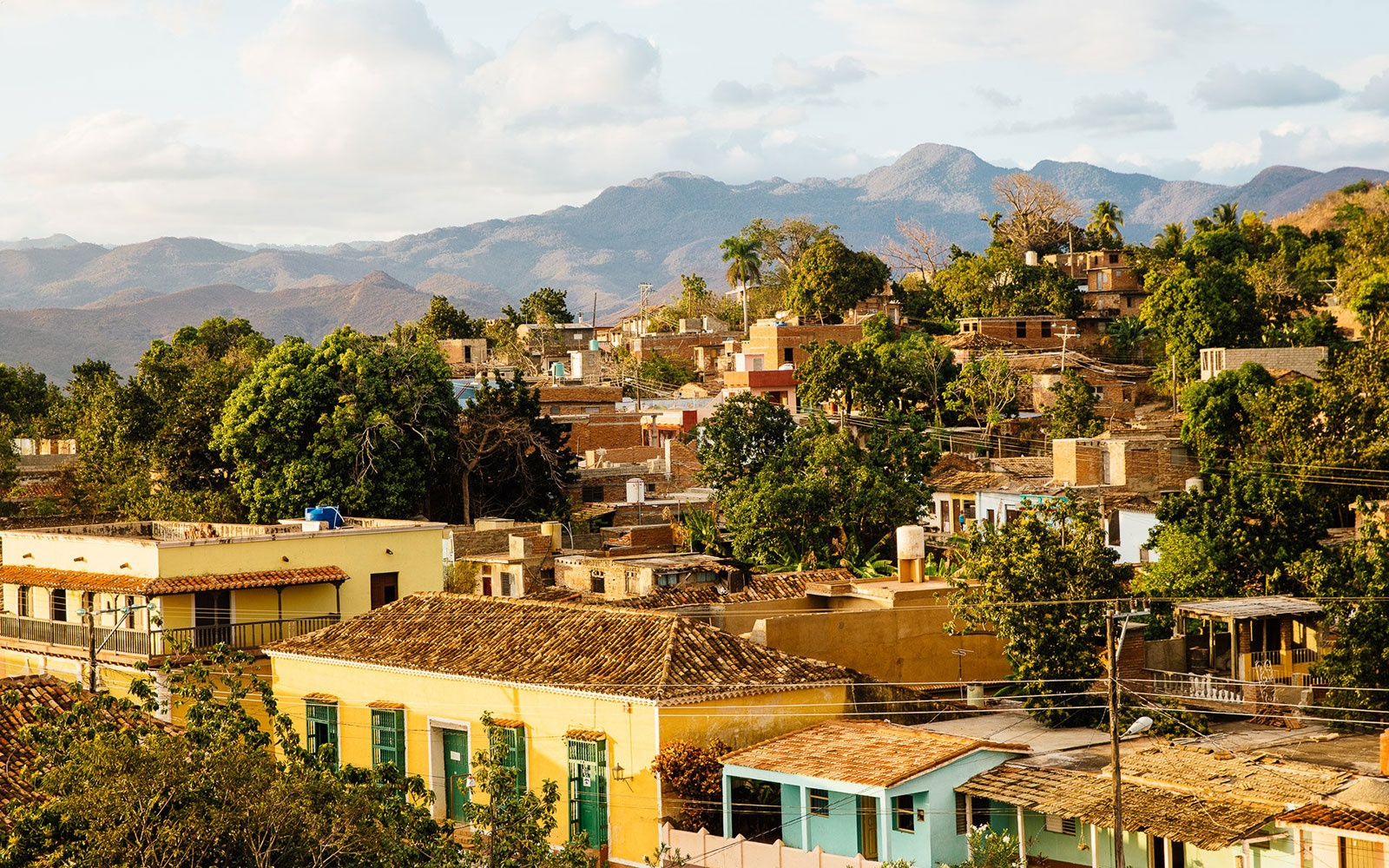 In Trinidad: Seek Out a Rooftop View