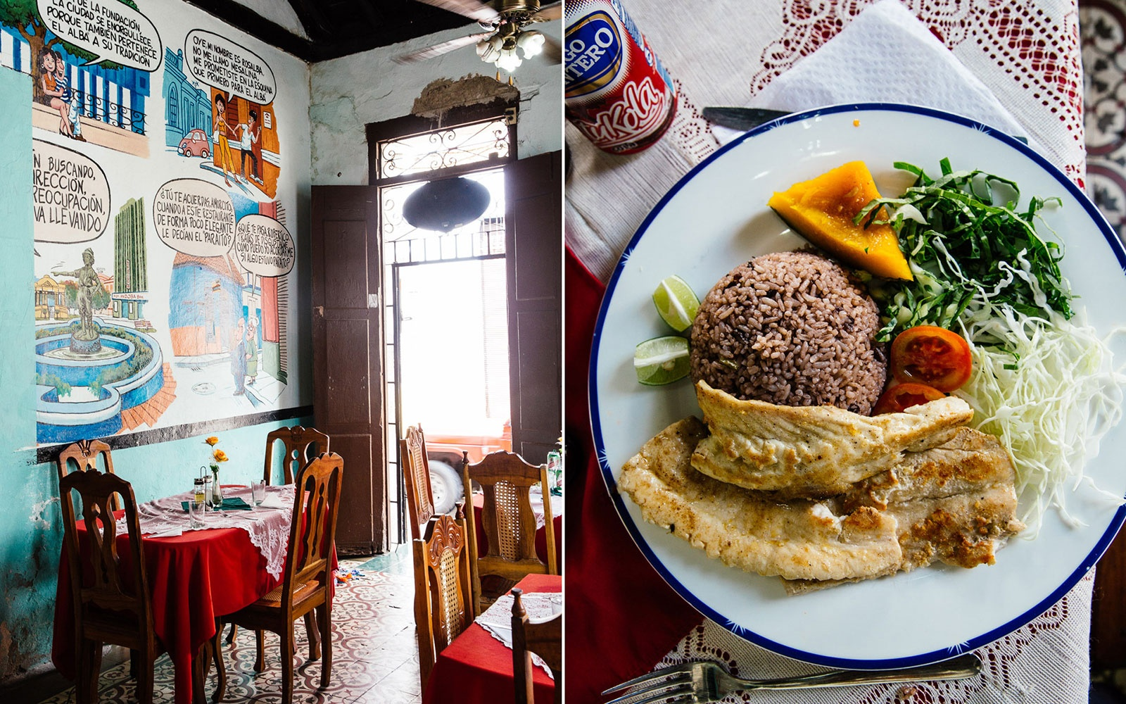 In Santa Clara: Eat Traditional Food at a Local Paladar