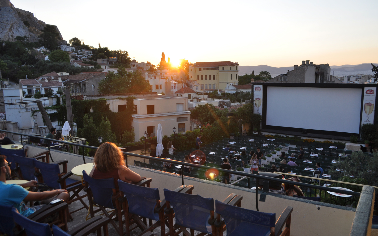 A Quick Guide to Athens's Many Outdoor Cinemas