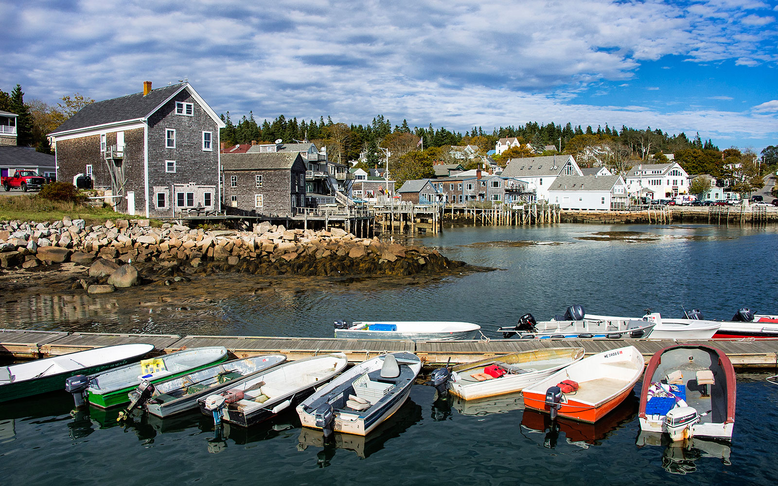 Charming Time Warp: Deer Isle, Maine