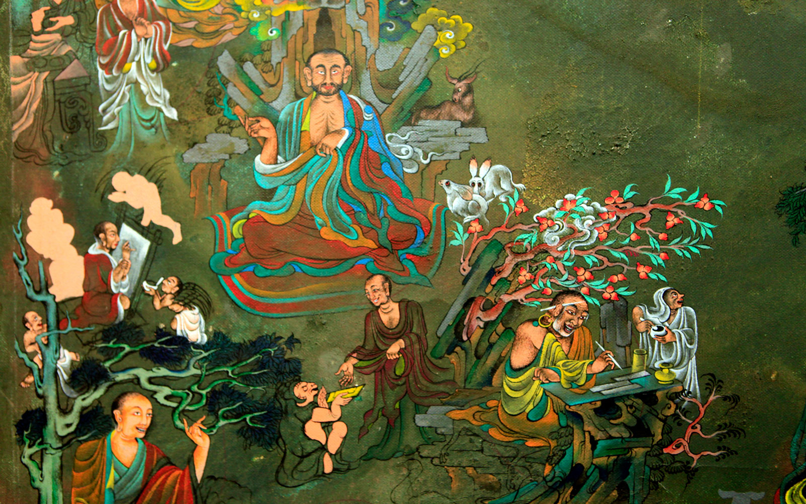 Bhutanese Art Deeply Rooted In Buddhist Faith Travel Leisure