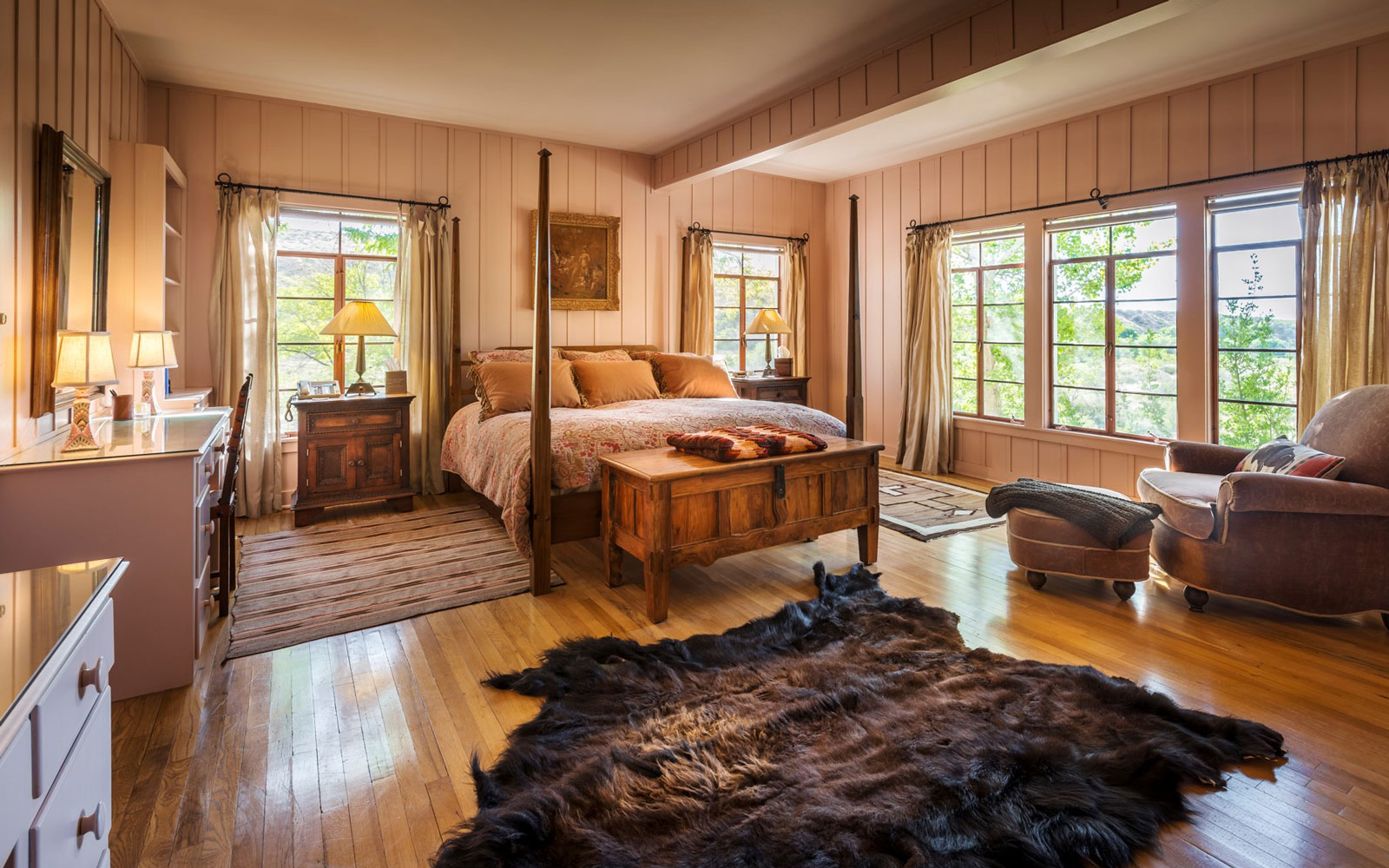 Ted Turner's Private Bunkhouse in New Mexico is Now Available for Rent