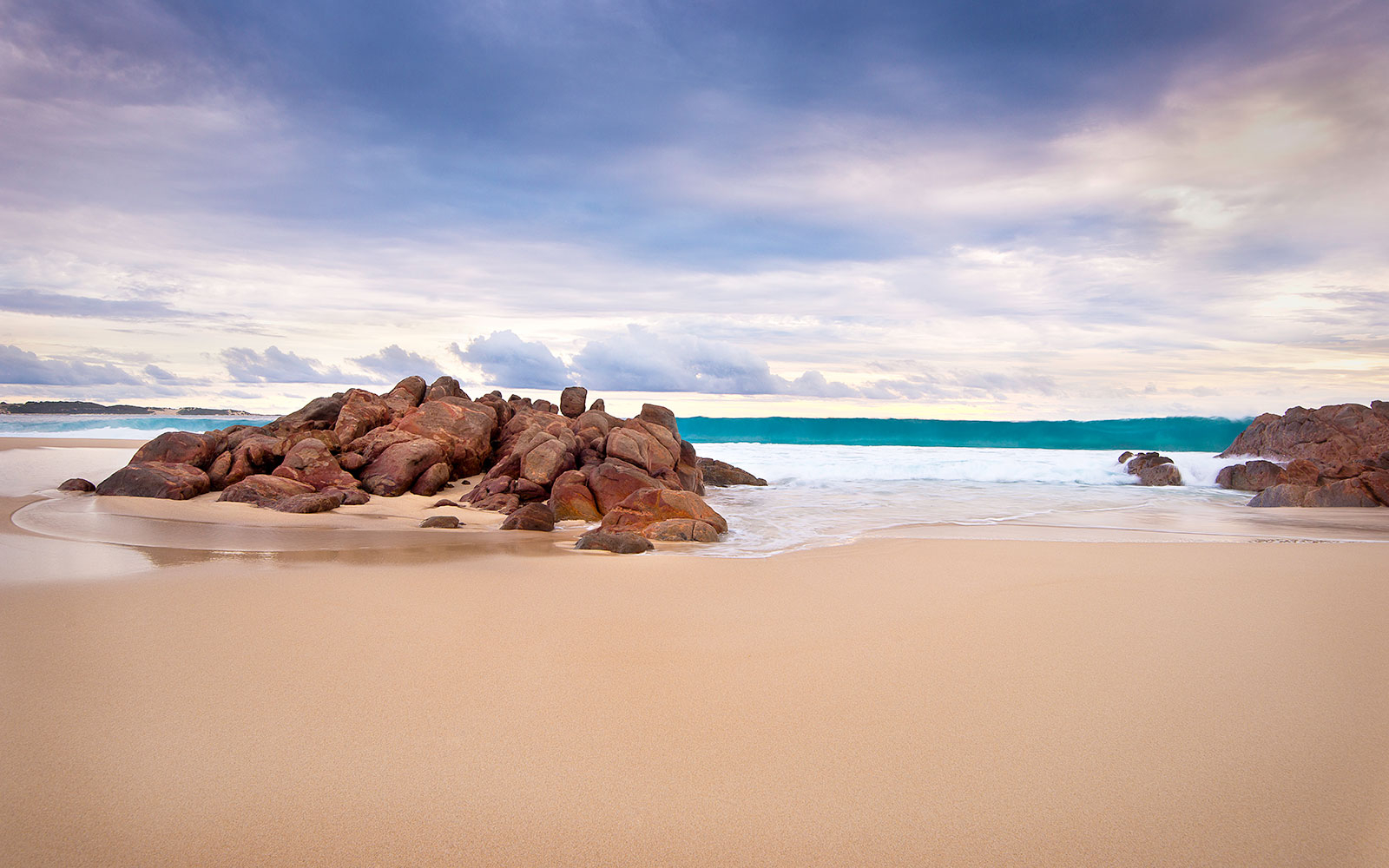 Try: Margaret River, Australia. Not: Byron Bay