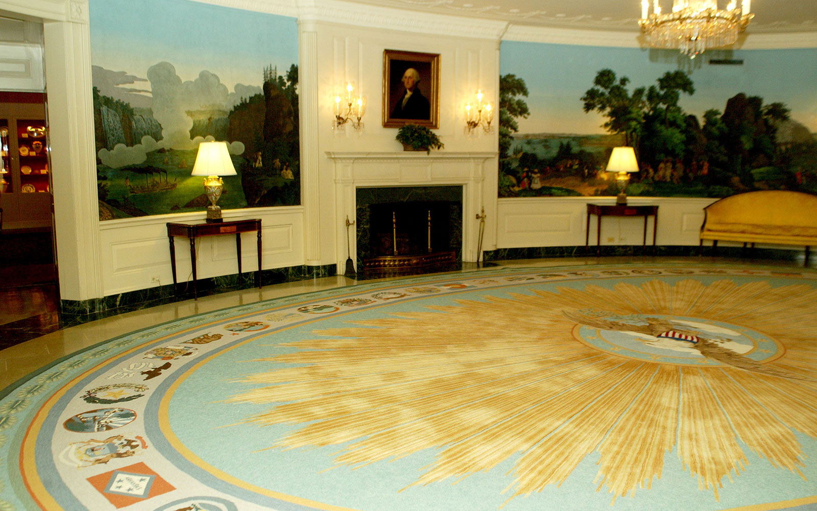 State Department Diplomatic Reception Rooms Tour in Washington DC