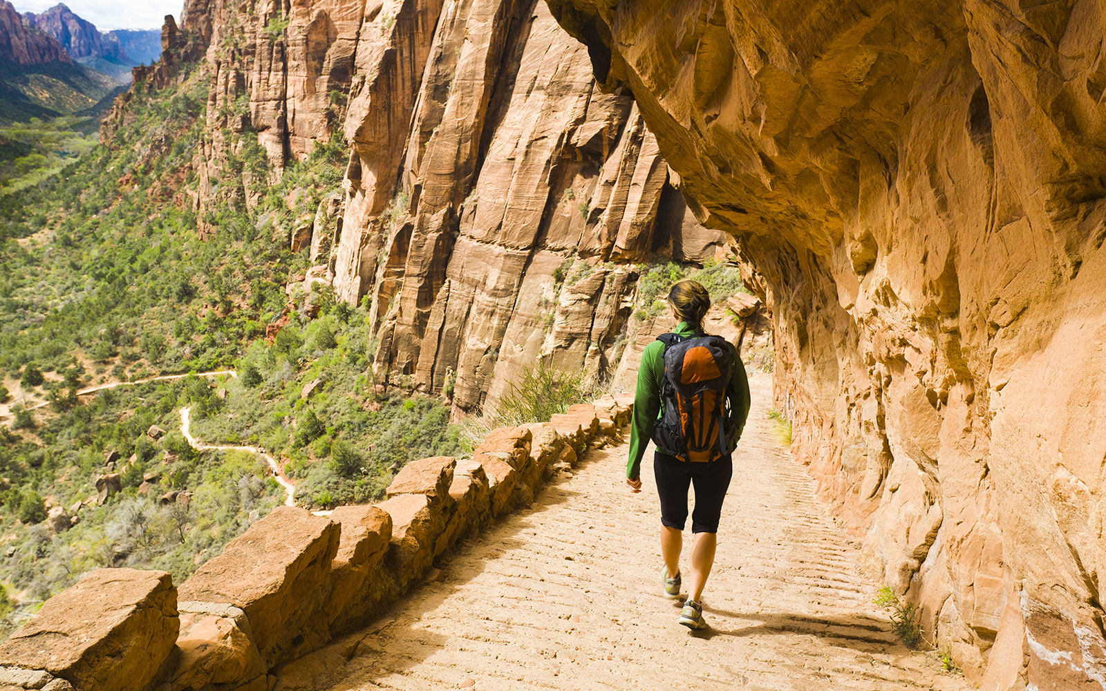 Hiking and Camping in Zion National Park